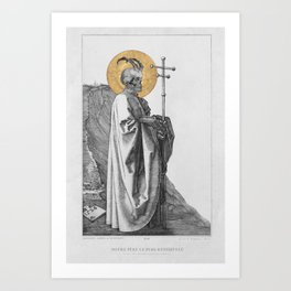 Our Most Reviled Father Art Print