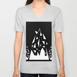 Triangle A Unisex V-Neck