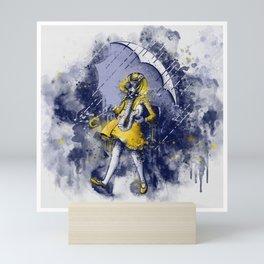 Watercolor Apocalyptic Salty Betch Mini Art Print