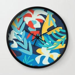 Color crush II #illustration Art Print Wall Clock