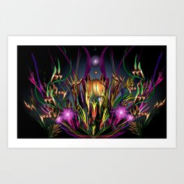 Art Deco Lullaby Art Print