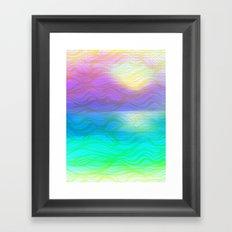 Colorful Sunrise Framed Art Print