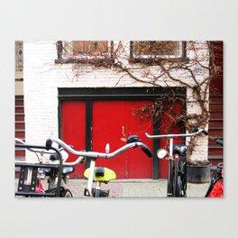 amsterdam street Canvas Print