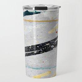Paint on aluminium Travel Mug
