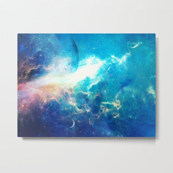 Stars Painter Metal Print