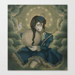 The Silent Quest Canvas Print