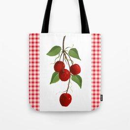 Country Cherries Tote Bag