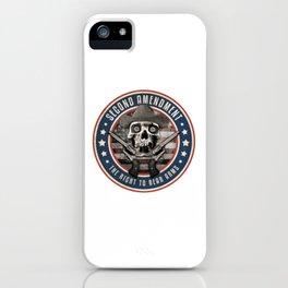 Second Amendment iPhone Case