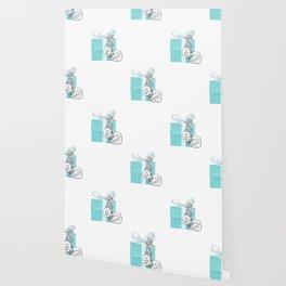 Blue Jewelry Box Wallpaper