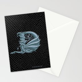 Dragon Letter D, from Dracoserific, a font full of Dragons. Stationery Cards