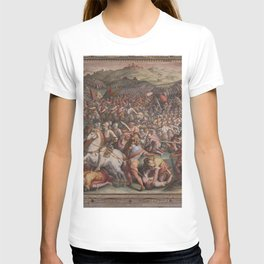Classic Art The battle of Marciano in Val di Chiana By Giorgio Vasari T-shirt