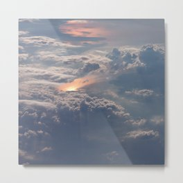 Looking Down from Heaven Metal Print