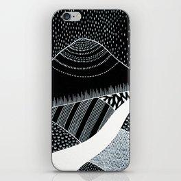Patterned Landscape 6 iPhone Skin