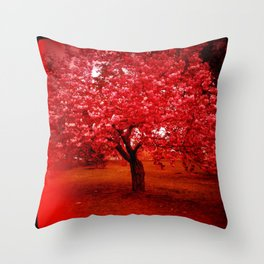 Cherry Blossom tree II Throw Pillow