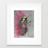marceline Framed Art Prints featuring marceline by Dan Solo Galleries