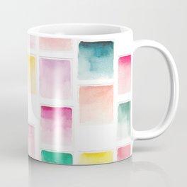 Summer Paint Chips Flat Lay Photograph Coffee Mug