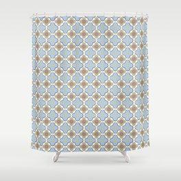 Moroccan Floris Shower Curtain