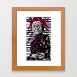 Pantone 7/10 = Rita Levi Montalcini Framed Art Print