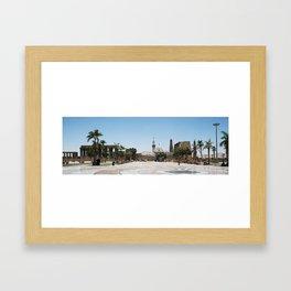 Temple of Luxor, no. 19 Framed Art Print