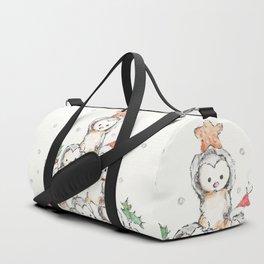 Oh Penguin Tree Duffle Bag