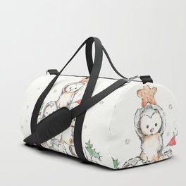 Oh Penguin Tree Duffle Bag