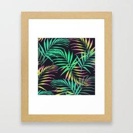 Summer Bliss Leaves  Framed Art Print