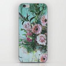 Shabby Pastel Floral Still Life iPhone & iPod Skin