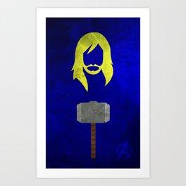 Thor: Avengers Movie Variant Art Print