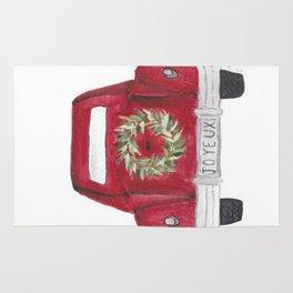 Joyeux Red Car Rug