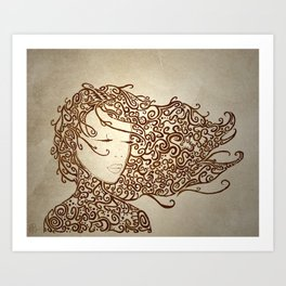 The Muses, No. 2 (Print Edition) Art Print