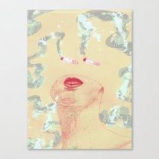 Delicious Cigarettes Canvas Print