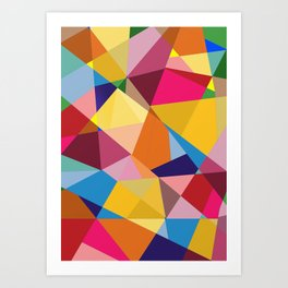 Creative Geometry Art Print