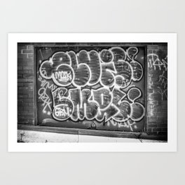 Grafitti Art Print