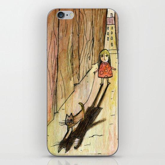walking the cat iPhone & iPod Skin