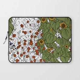 Great Prairie with Sunflowers Laptop Sleeve