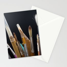 Art Tools Pencils and Brushes Stationery Cards