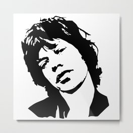 GIFTS OF A ROCK N ROLL AND MOVIE SUPERSTAR ARTIST AND DIVA GIFT WRAPPED FOR YOU FROM MONOFACES Metal Print