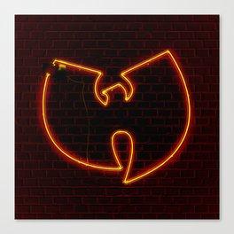 Wu Tang Neon Canvas Print