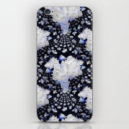 Fractal Lily Vase - BWB iPhone Skin