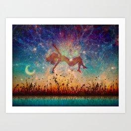 Starfall (Dreamers #1) Art Print