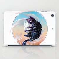space cat iPad Cases featuring Space Cat by Catus