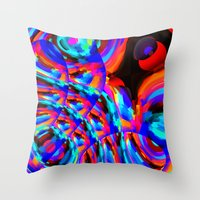 philosophy Throw Pillows featuring Omni-Centric Philosophy by David  Gough