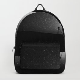 Finland and Galaxy (Black and White) Backpack