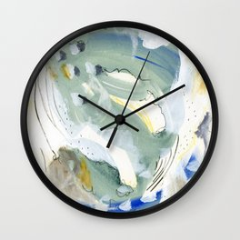 Smoky Satin Wall Clock