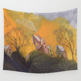 Inclined Wall Tapestry