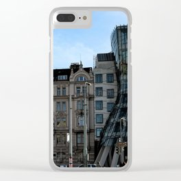 The Dancing House in Prague by Frank Grehry Clear iPhone Case