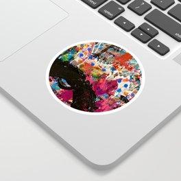 Well Runs Deep Abstract Sticker