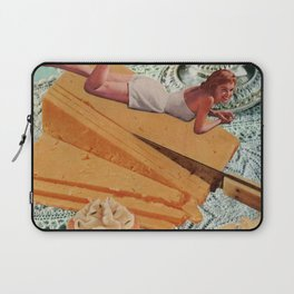 Money Can't Buy You Happiness, But It Can Buy You Cheese Laptop Sleeve