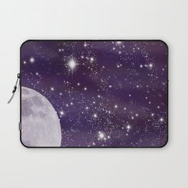 Cosmic Moon  Laptop Sleeve