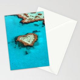 Heart Coral Reef - Queensland, Australia Stationery Cards